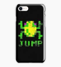 Frogger Jump iPhone Case/Skin