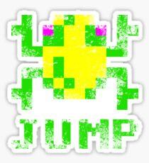 Frogger Jump Sticker