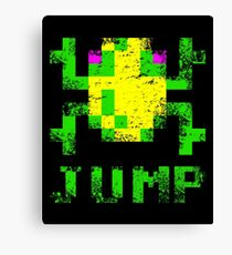 Frogger Jump Canvas Print