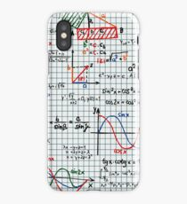 Mathematics Formulas Numbers  iPhone Case