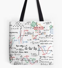 Mathematics Formulas Numbers  Tote Bag