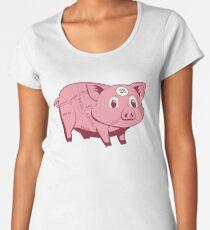 Pink Pig Women's Premium T-Shirt