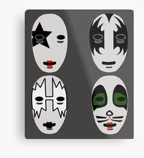 Sincara Kiss Metal Print