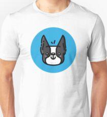 Boston Terrier- Black Unisex T-Shirt