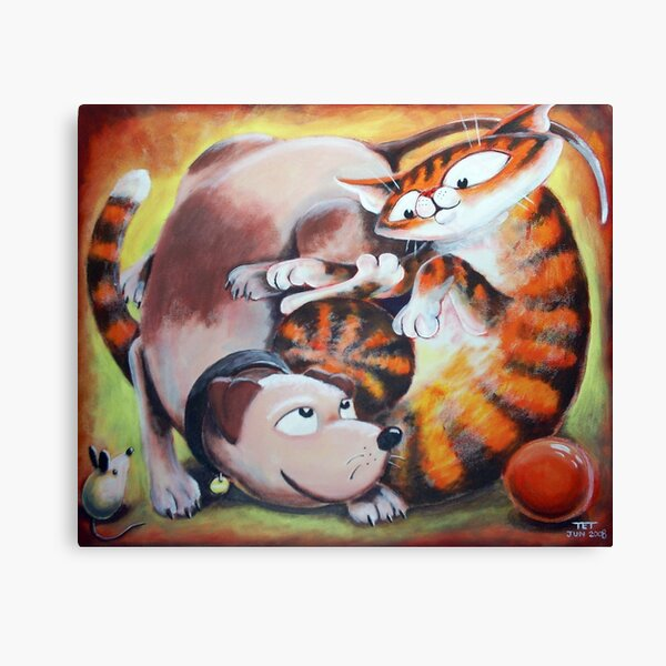 Tangled Toys - Art by TET Canvas Print