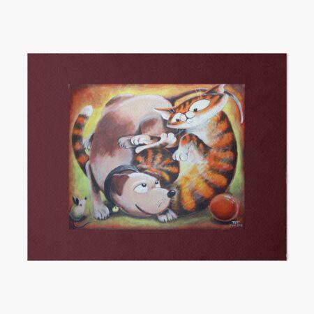 Tangled Toys - Art by TET Art Board Print