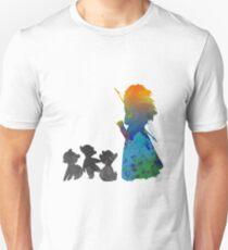 Siblings Inspired Silhouette T-Shirt