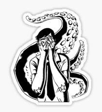 Horror Kraken Sticker