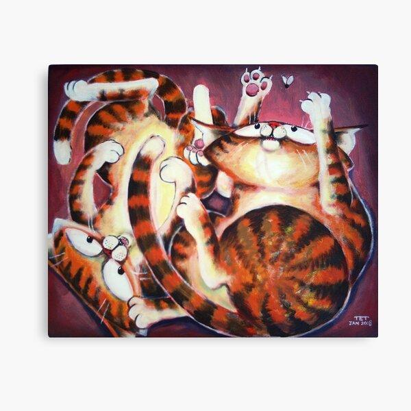 Tangled Fun - Art by TET Canvas Print