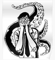 Cthulhu Tattoo Posters | Redbubble
