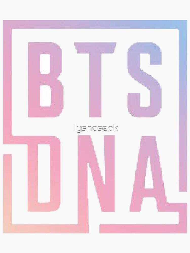 BTS LOVE YOURSELF DNA LOGO #1 by lyshoseok