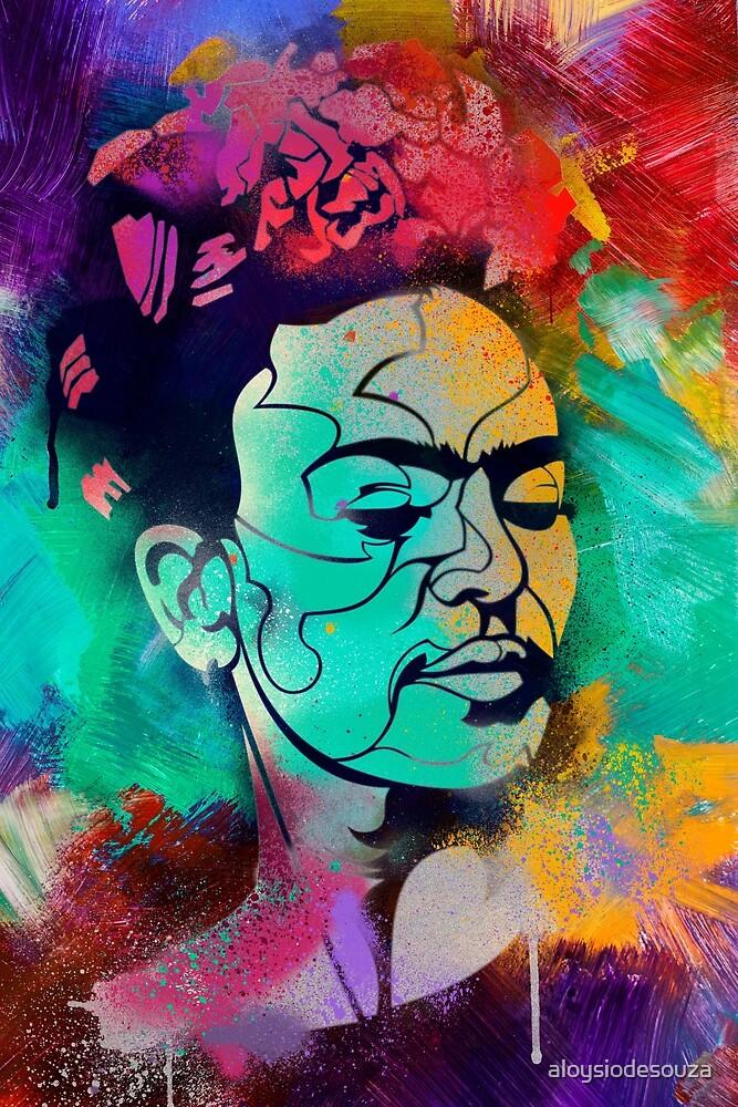 Frida by aloysiodesouza