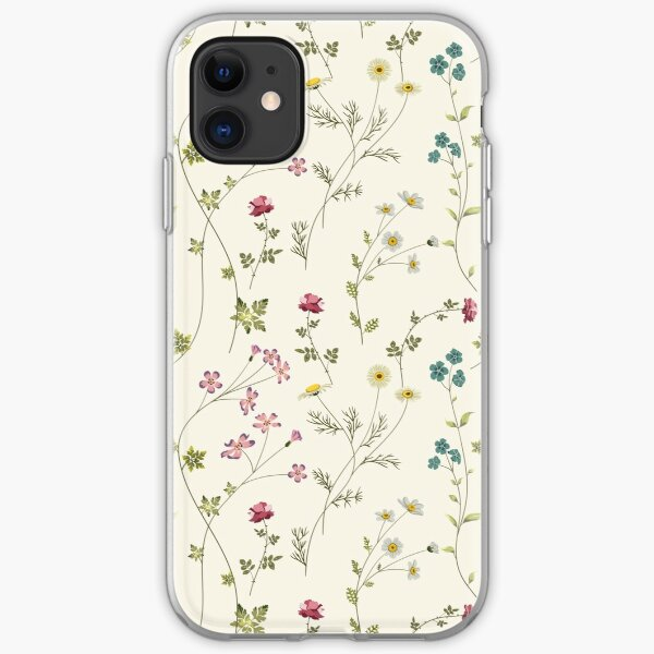 Pressed Flowers iPhone Soft Case