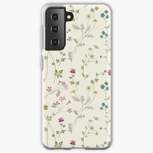 Pressed Flowers Samsung Galaxy Soft Case