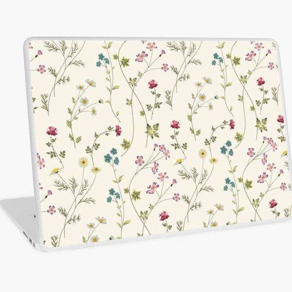 Pressed Flowers Laptop Skin