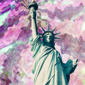 Wavy Statue of Liberty by tiagonogueira