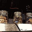 Jars full of treats by Asrais