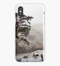 Snow Scene on Glencoe #2 iPhone Case/Skin