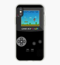 Vinilo o funda para iPhone Retro Nintendo Game Boy Super Mario