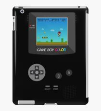 Retro Nintendo Game Boy Super Mario  iPad Case/Skin