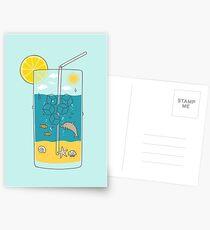 summer drink Postcards