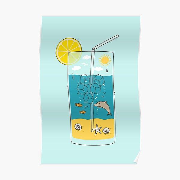 summer drink Poster