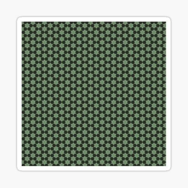 Geometric Flower Pattern 3 Sticker