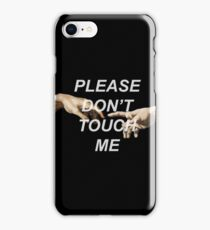 Adam's Creation (Please Don't Touch Me) iPhone Case/Skin