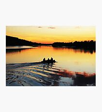 River Suir sunset Photographic Print