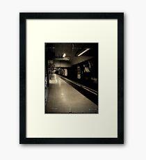 London underground Framed Print