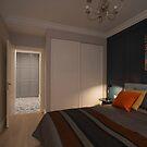 Simple Modern bedroom by mrivserg