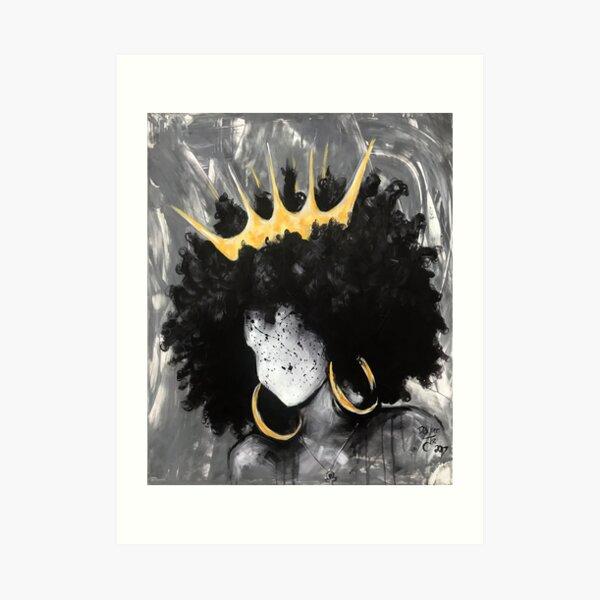 Naturally Queen III Art Print