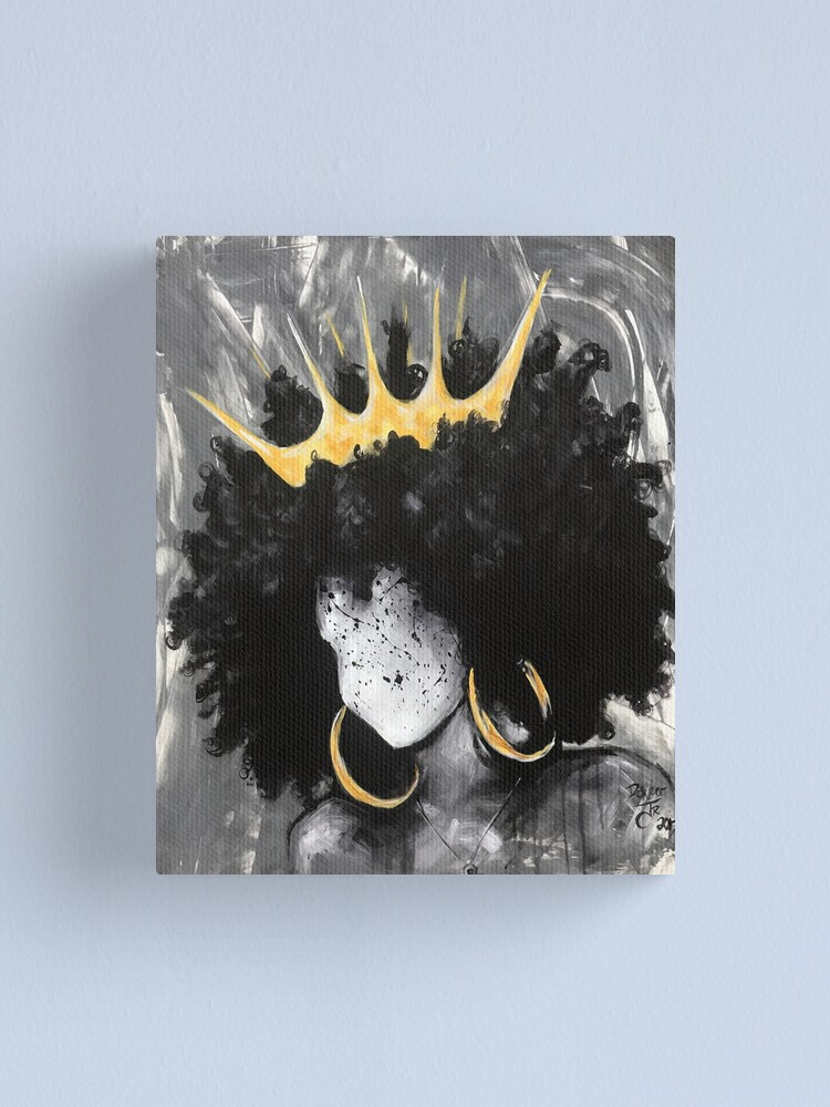 Alternate view of Naturally Queen III Canvas Print