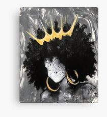Naturally Queen III Canvas Print