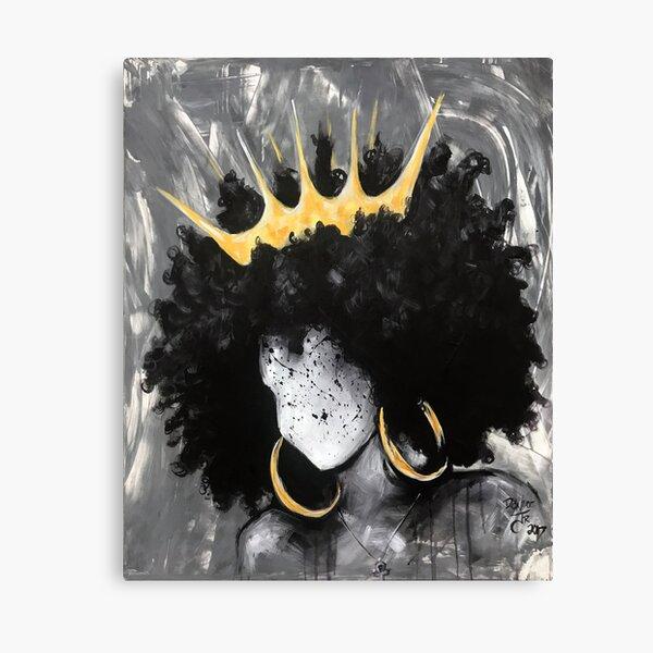 Naturally Queen III Canvas Print