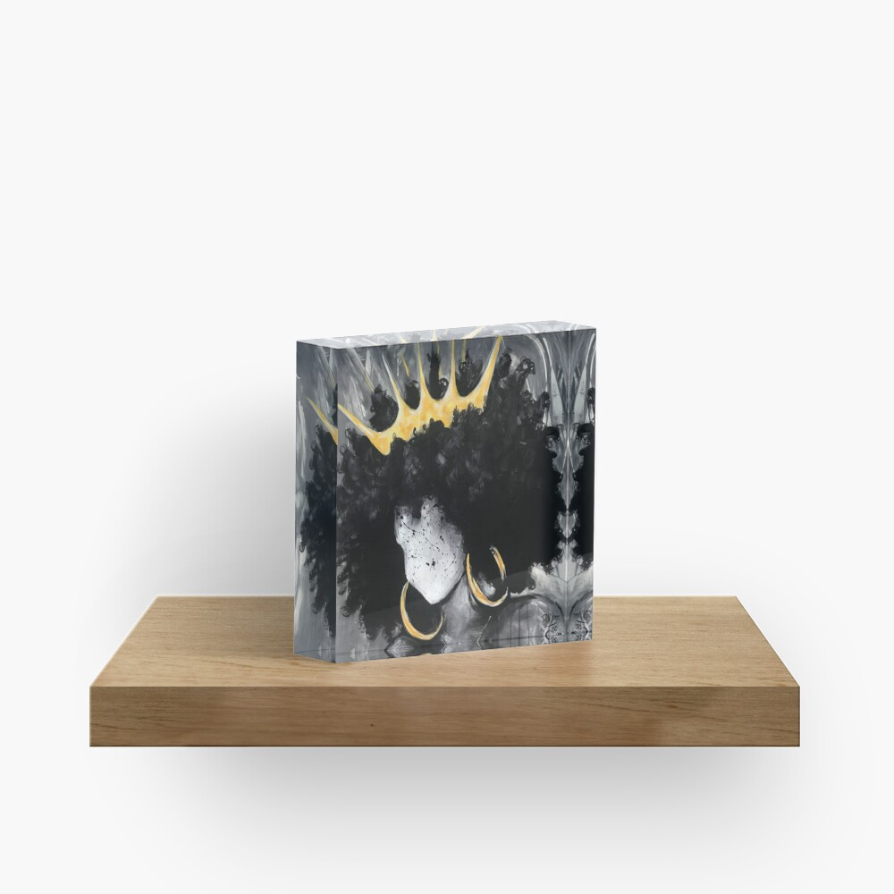 Naturally Queen III Acrylic Block