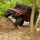 Off-road vehicle go around obstacles by mrivserg