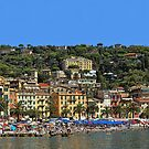 The Colorful Italian Riviera  by Lanis Rossi