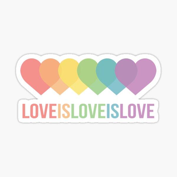 LOVEISLOVEISLOVE Sticker