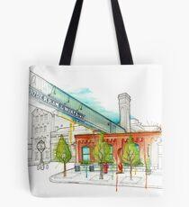 Distillery District Watercolour Tote Bag