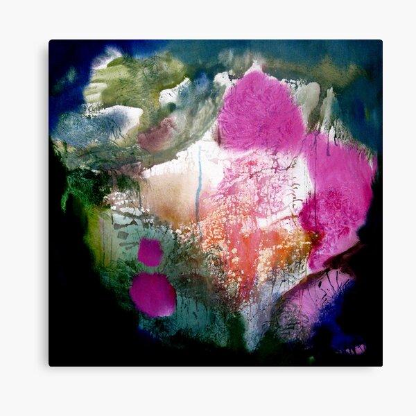 pink floating feelings 2 Canvas Print