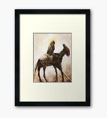 Tribute to Beksinski, TomekBiniek.com Framed Print