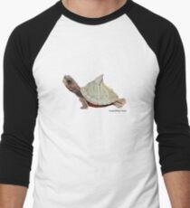Assam Roofed Turtle Men's Baseball ¾ T-Shirt
