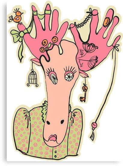 Elk by OlgaBerlet