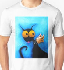 Stressie Cat Angel T-Shirt