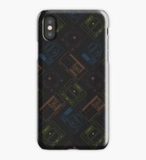 Sega outlines (black) iPhone Case/Skin
