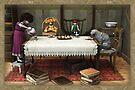 Tea in the attic by Roberta Angiolani