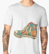 colored pattern gym shoes Men's Premium T-Shirt