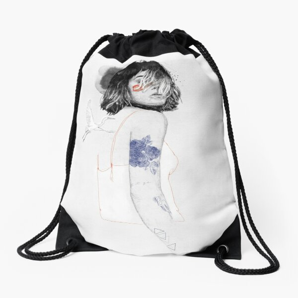 ARDEIDAE Drawstring Bag