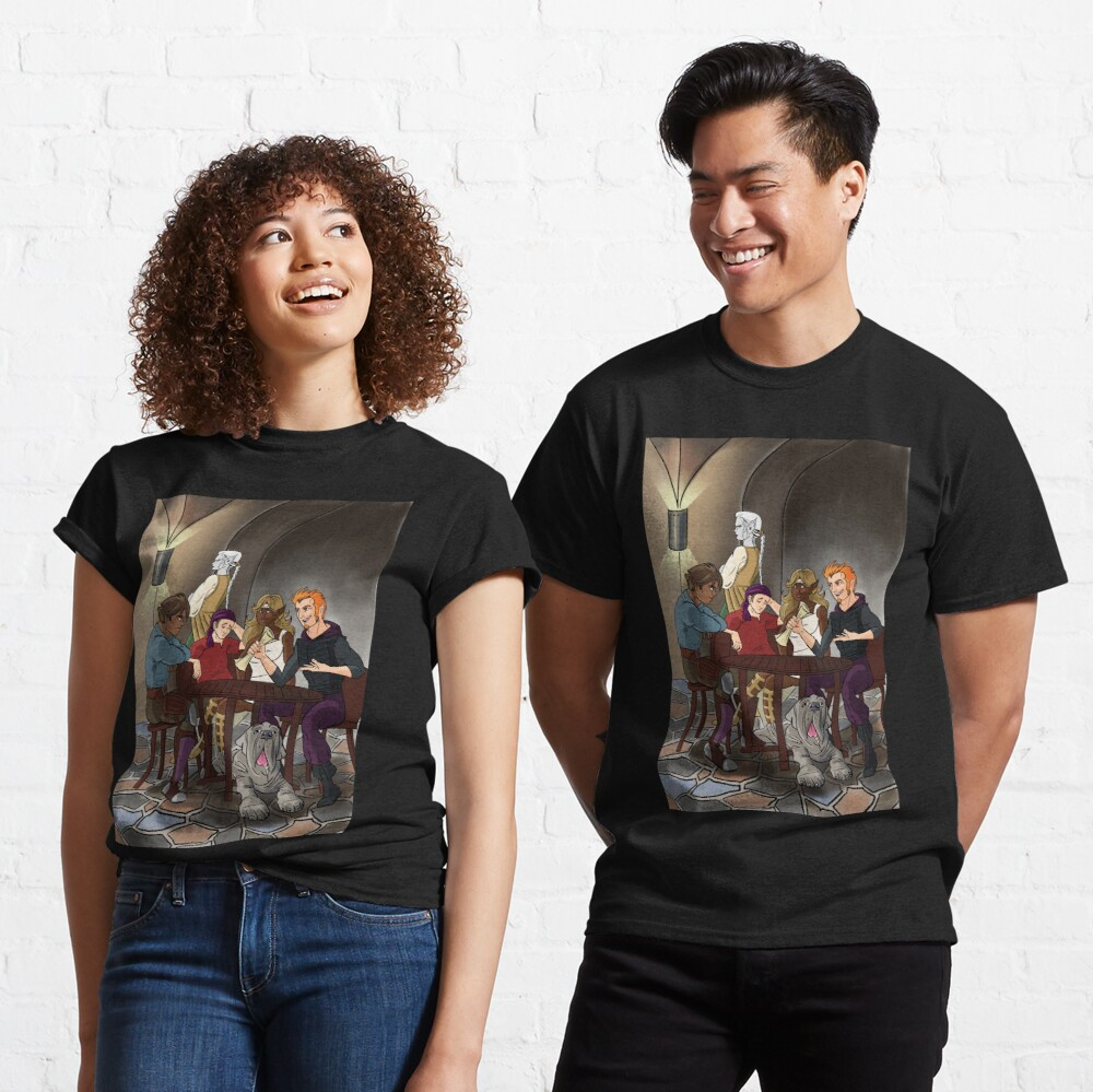 Strongarm & Lightfoot: Blades of Glory cover Classic T-Shirt